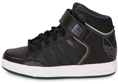 e443c82e675 adidas Varial Mid Kids Black/Black Black Size: 13.5K: Amazon.co.uk ...