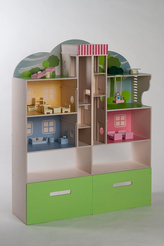 Rülke Holzspielzeug 23183 Mini City Townhouse