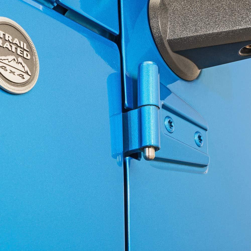 8 PCs Kit BulbForest Wrangler Door Pin Guides for 2007-2020 JK JL and Unlimited JKU JLU JT Gladiator Hinge Bolts Help Reinstalling Doros Easier