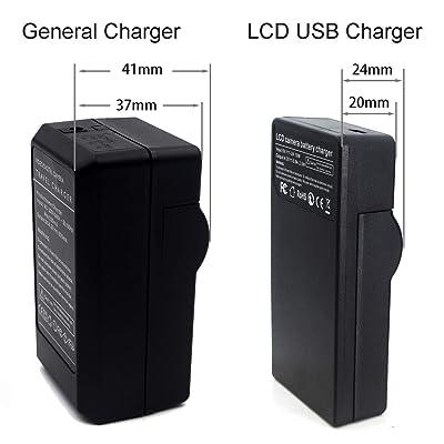NP-FH50 LCD USB Chargeur pour Sony DCR-DVD108 DCR-DVD610 DCR-DVD105 DCR-HC21 DCR-HC52 DCR-HC38 DCR-SR45 DCR-SR47 DCR-SX85 DCR-SX45 DCR-SX44 HDR-SR11 HDR-SR12 HDR-XR160 Cam/éra et Plus