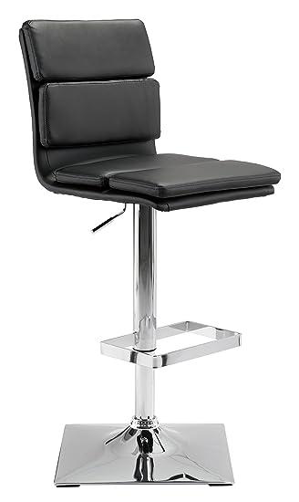 Miraculous Amazon Com Zuo Modern 100594 Use Bar Chair Black Slim Evergreenethics Interior Chair Design Evergreenethicsorg