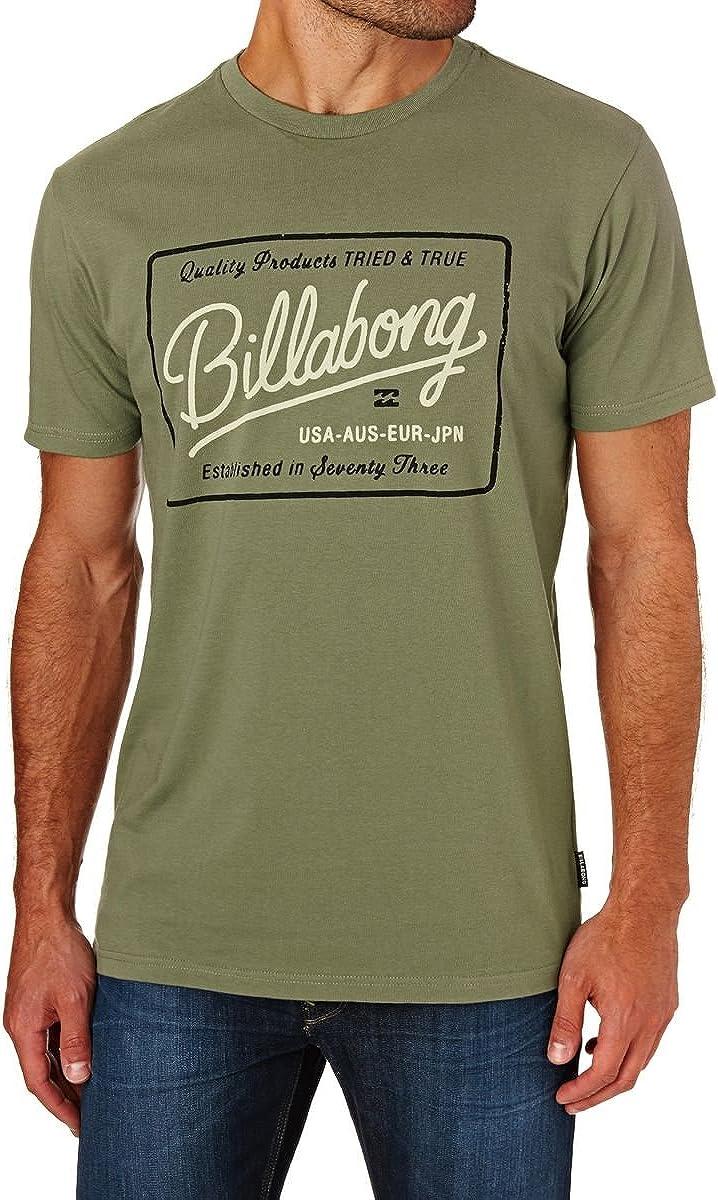 BILLABONG Baldwin SS Camiseta, Hombre, Verde (Olive), L: Amazon.es: Ropa y accesorios