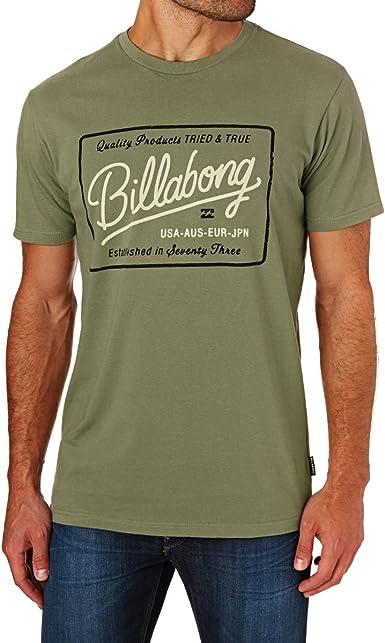 BILLABONG Baldwin Short Sleeve Camiseta, Hombre: Amazon.es: Ropa y ...