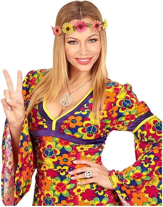 Horror-Shop Banda para el Cabello Hippie con Flores: Amazon.es ...