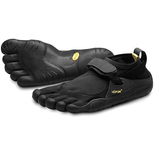 Vibram Five Fingers KSO - Zapatillas de fitness de nailon para mujer, Negro (Schwarz