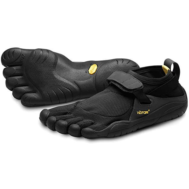 Vibram Five Fingers KSO - Zapatillas de fitness de nailon para mujer, Negro (Schwarz (Black)), 37: Amazon.es: Zapatos y complementos
