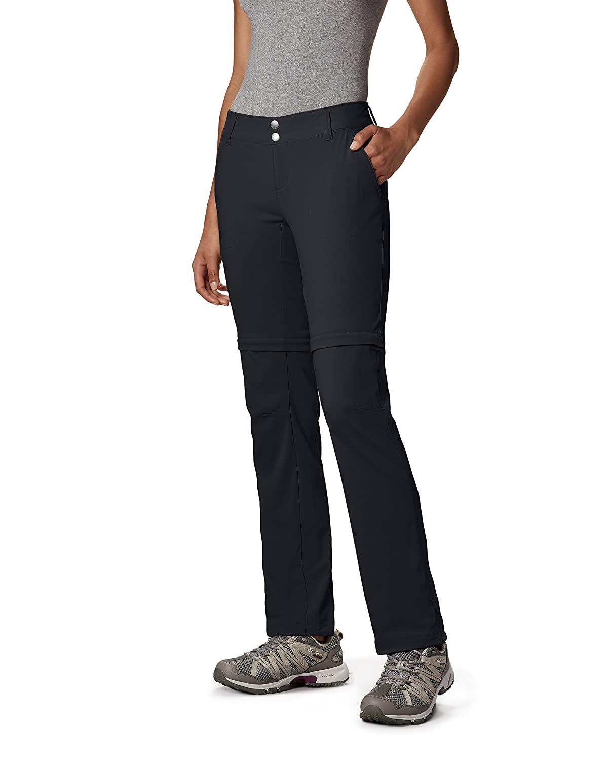 Columbia Women's Saturday Trail II Convertible Pants, Black, 8 Columbia (Sporting Goods) 1579851