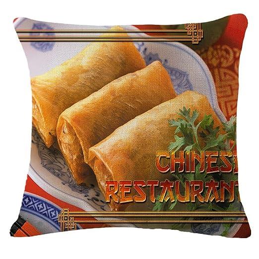nunubee kissenbezug restaurante de estilo chino de estilo ...