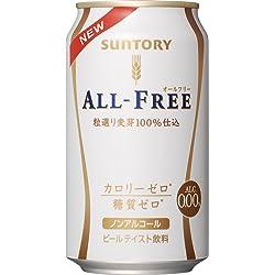 サントリー オールフリー ノンアルコールビールテイスト飲料 (350ml×6缶)×4個