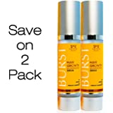 2 PACK - BURST Hair Regrowth Serum - Advanced Science Combats Hair Loss at the Roots - With Patented Redensyl and Organic Ingredients - by Nourish Beaute