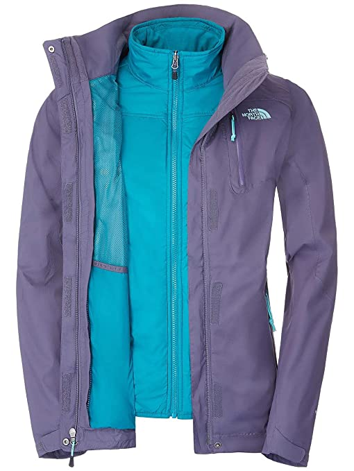 The North Face - Giacca Zenith Triclimate da donna  Amazon.it  Sport ... b74716d57ce7