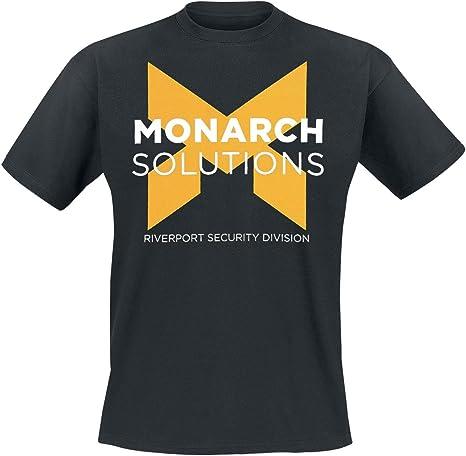 Quantum Break T-Shirt -M- Monarch Solutions, Schwa [Importación ...