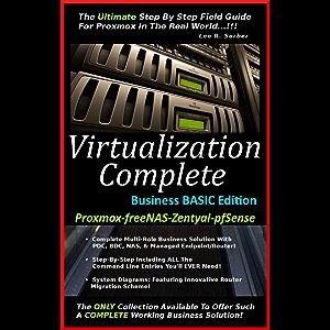 Amazon com: Virtualization Complete: Business ELITE Edition (Proxmox