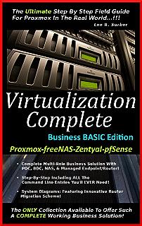 Virtualization Complete: Business PLUS Edition (Proxmox-freeNAS
