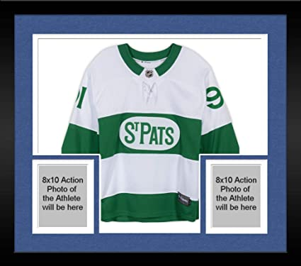 20a0805ef06 Image Unavailable. Image not available for. Color: Framed John Tavares Toronto  Maple Leafs Autographed Toronto St. Pats Fanatics Breakaway Jersey ...