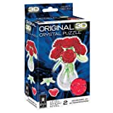 Bepuzzled Original 3D Crystal Jigsaw Puzzle - Red
