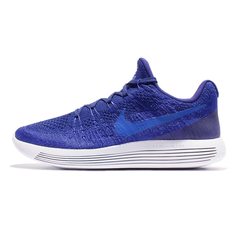 NIKE Lunarepic Low Flyknit 2 Mens Running Shoes B06W2PJR4L 11.5 D(M) US Deep Blue Medium Blue 400