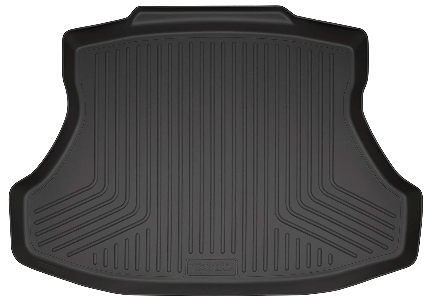 Black Husky Liners Custom Fit WeatherBeater Molded Front and Second Seat Floor Liner Set for Select Honda Civic Models