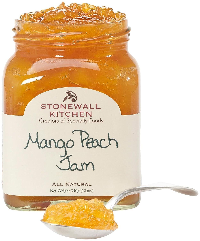 Stonewall Kitchen Jam, Mango Peach, 12 Ounce