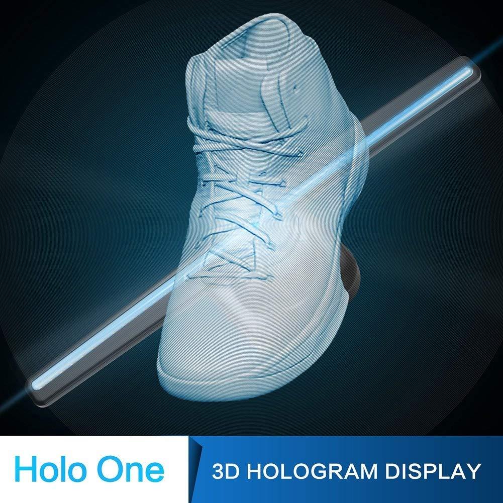 Ventilador holográfico Proyector holográfico 3D LED WiFi ...
