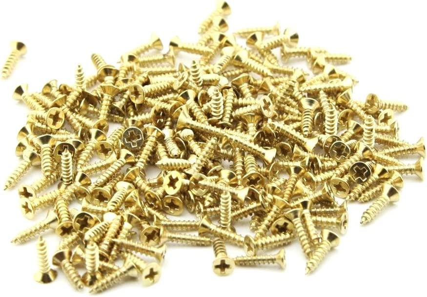 Linwood Flat Head Small Screws 2/×10mm//0.07/×0.39in, Silver DIY Screws Super Small Household Screw General Purpose for KitchenOffice Decoration Boxes Pictures Decorative Accessories 200pcs
