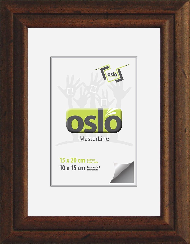 OSLO MasterLine Bilderrahmen Collage 25x70 Gold Matt Kunststoff ...