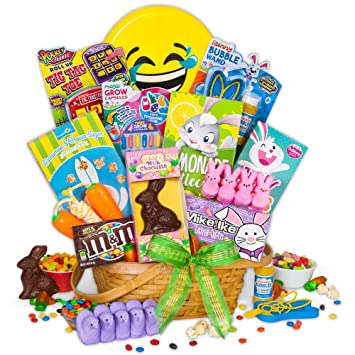 Easter candy and toys basket amazon grocery gourmet food easter candy and toys basket negle Image collections