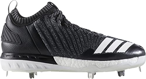 finest selection 9a275 98954 adidas Men s Boost Icon 3 Baseball Cleats (Grey Black, 7.5 D(M