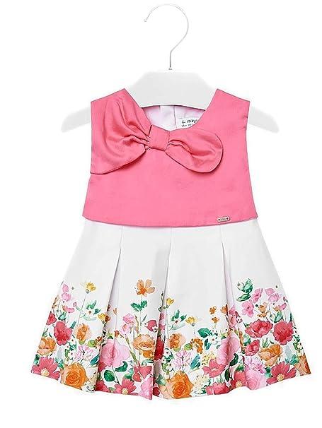 nuova versione miglior valore vendita calda Mayoral 29-01915-050 - Vestito Combinato drappi per Bimba 18 ...
