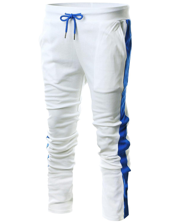GIVON PANTS メンズ White B07BRPGFM8 Dca005 White/ メンズ Blue XX-Large White XX-Large|Dca005 White/ Blue, 住設あんしんショップ:8ec03b60 --- krianta.com