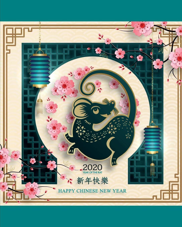 Chinese New Year 2020 Zodiac.Amazon Com 2020 Year Of The Rat Happy Chinese New Year