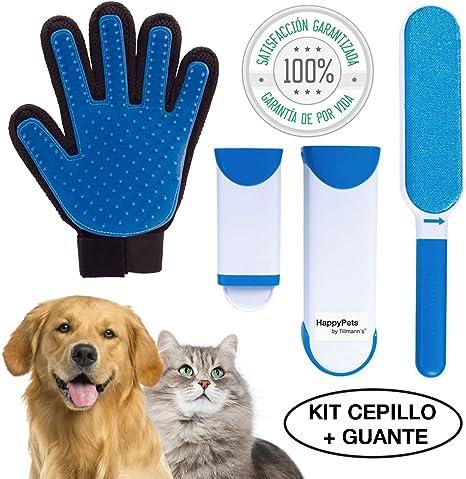 HappyPets Quita Pelos Gato - Perro - Mascotas | Cepillo Recoge ...