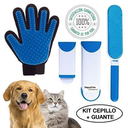 HappyPets Quita Pelos Gato - Perro - Mascotas | Cepillo Recoge Pelos | Atrapa Pelos Del