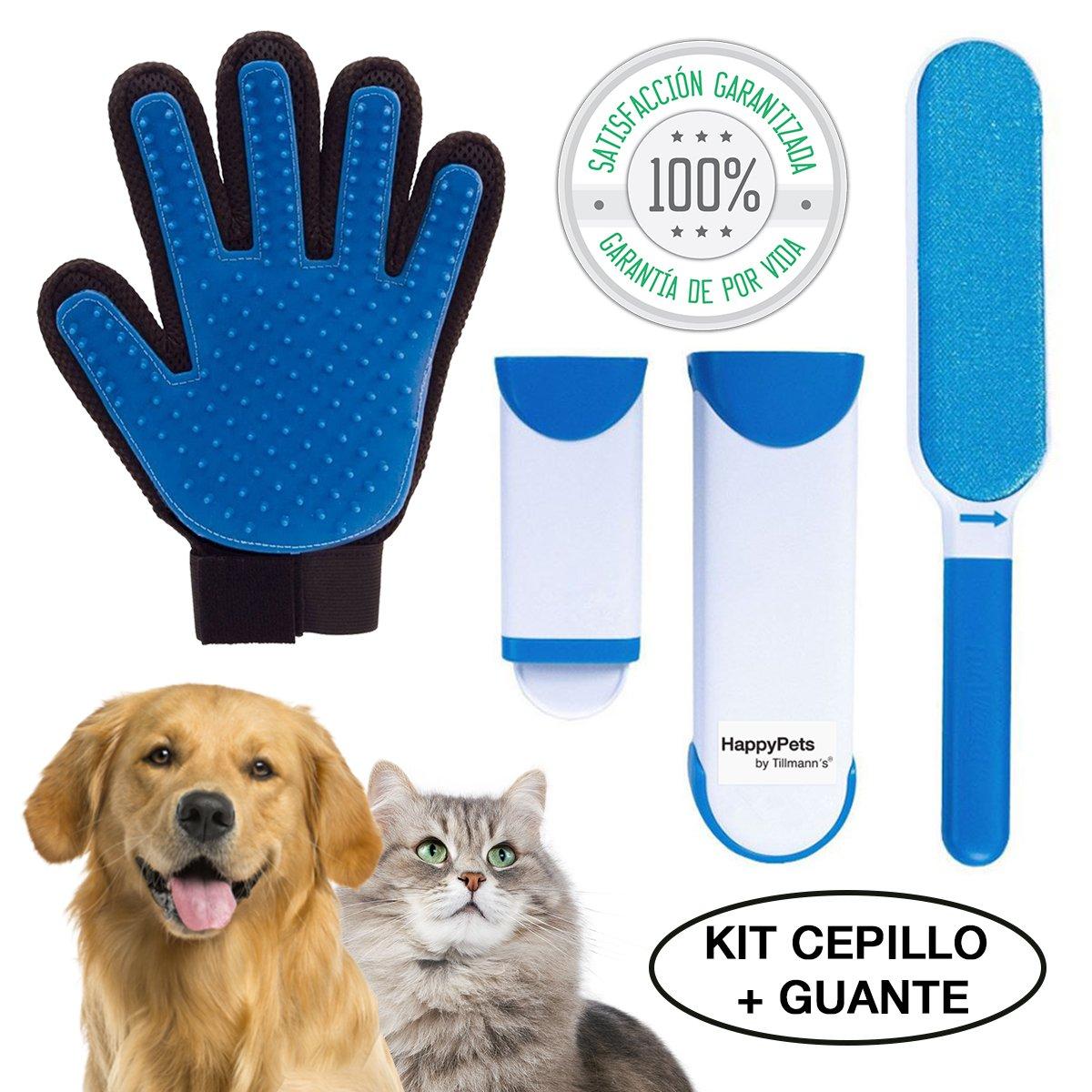 HappyPets Quita Pelos Gato - Perro - Mascotas   Cepillo Recoge Pelos   Atrapa Pelos Del Sofa O La Ropa   Quitapelos Pet Hair