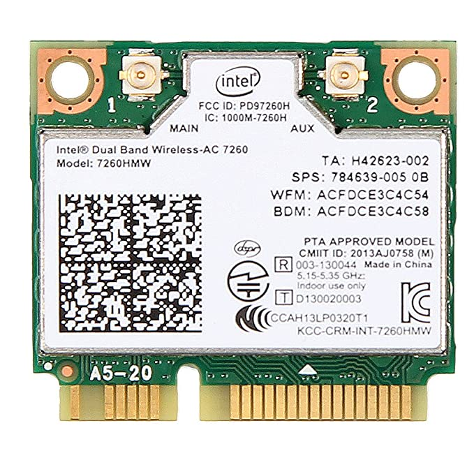INTEL 7260HMW DRIVERS FOR WINDOWS 7