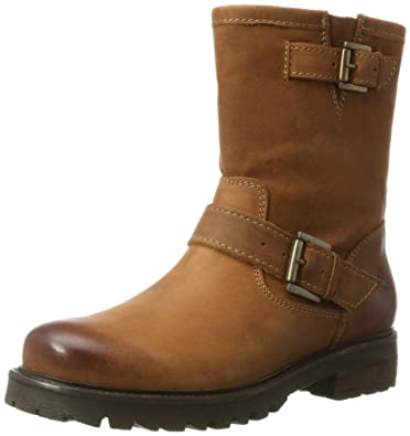 Keith, Bottes Motardes Femme, Marron (Cognac 10), 40 EUApple of Eden