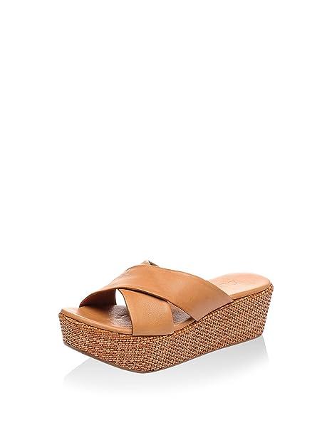 eszapatos y Wedge 38Amazon Sandal Eu bolsos Tobacco Bueno eoCxBrd