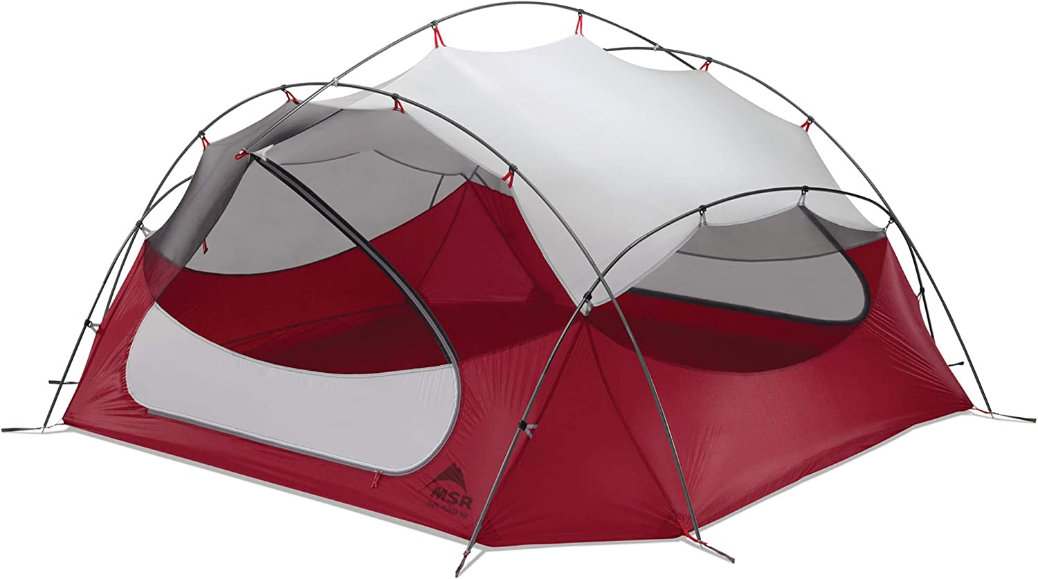 Msr Papa Hubba NX Tent: 4 Person 3 Season