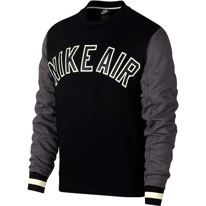 Nike Sportswear Crew Pullover Herren schwarz weiß kaufen
