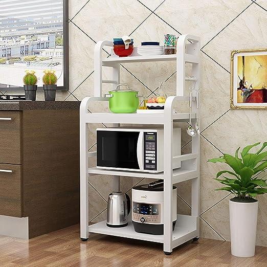 Bjia Rejilla de horno de microondas de cocina de pie ...