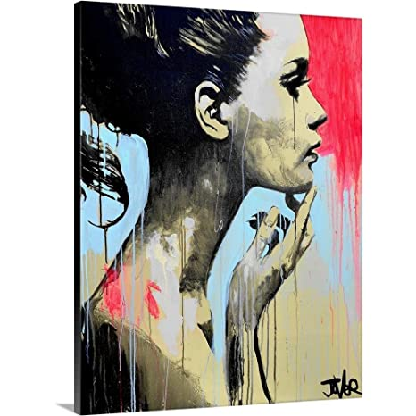 Amazon.com: Loui Jover Premium Thick-Wrap Canvas Wall Art ...