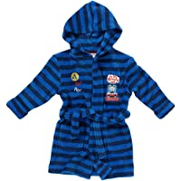 Thomas   Friends Boys I m The Cheeky One Striped Hooded Fleece Dressing  Gown Robe 15dda957e