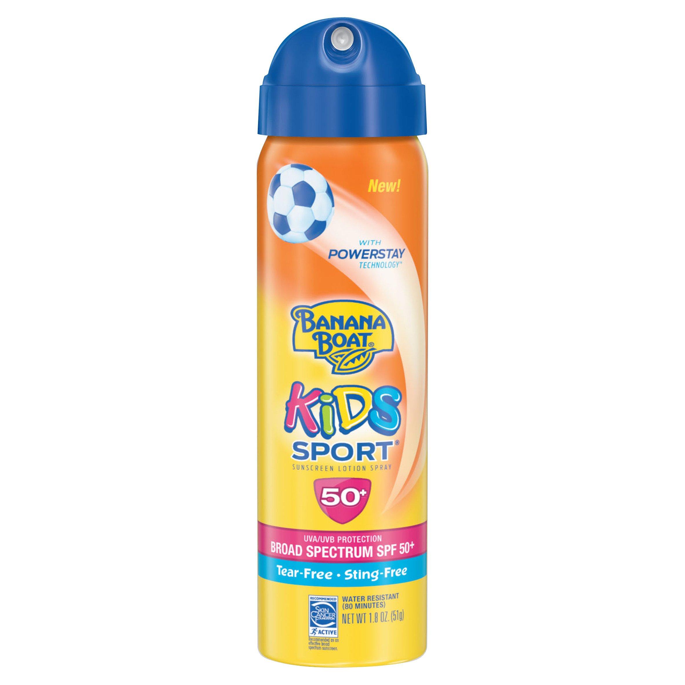 Banana Boat Kids Sport Sunscreen Lotion Spray SPF50+ (case of 24) ORMD