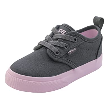 e6b5745b52 Vans Atwood Infant Slip-On Sneakers - Asphalt  - UK 8.5   US 9   EU 25.5    14 cm  Amazon.co.uk  Clothing