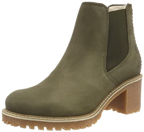 tamaris chelsea boots olive