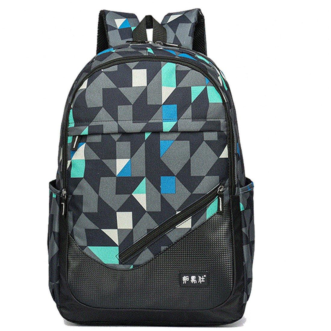 Maod juveniles Backpack Impermeables Mochila de Ordenador Impresión Bolsos Escolares portatil mochilas