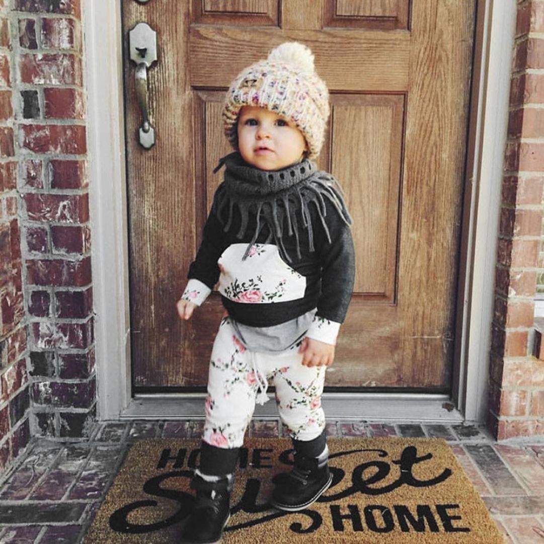 Babykleidung Hirolan Strampler Neugeborene Kleidung 3T-7T Baby Jungen M/ädchen K/ürbis T-Shirt Teufel Lange H/ülse Tops Hosen Stilvoll O-Ausschnitt Halloween Outfits Set