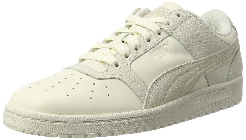 Puma Unisex-Erwachsene Sky Ii Lo Color Blocked Lthr Sneaker  38 EU|Wei? (Whisper White-whisper White)