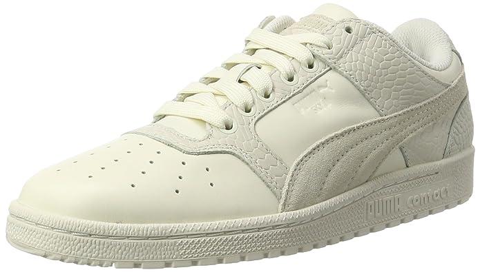 Puma Liga Leather, Zapatillas Unisex Adulto, Blanco (Whisper White-Whisper White), 48.5 EU