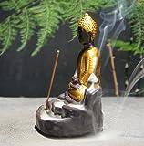 OTOFY Handmade Ceramic Incense Holder, Backflow